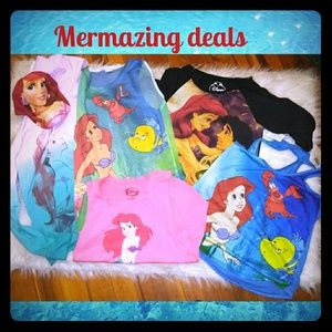 Disney Little Mermaid bundle deal (6 items)